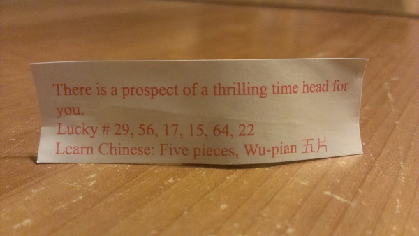 Fortune Cookie, Time Head