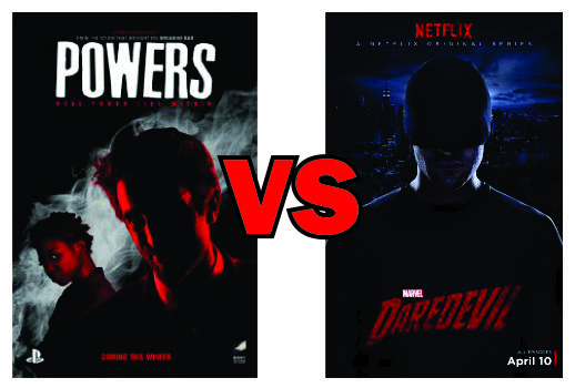 Powers vs Daredevil
