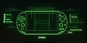 The Vita Remote Play control scheme.