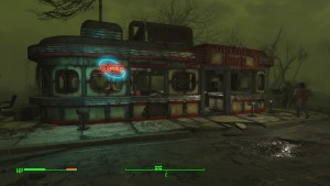 A friendly little family diner... in the middle of the apocalypse.