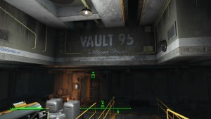 Vault 95, if you lived here, you'd be dead now!