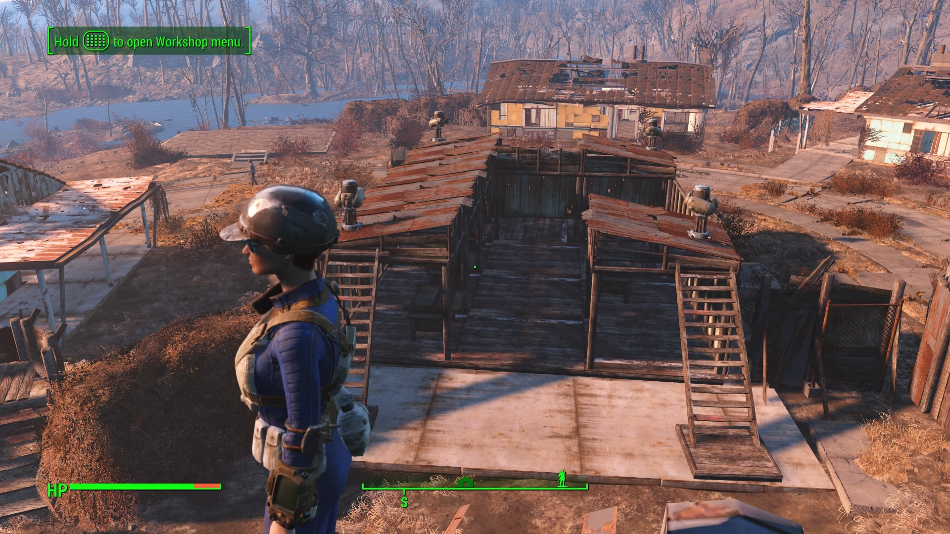 Day 21 with fallout 4 settlements and i part ways for Fallout 4 bedroom ideas