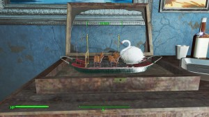 Why can't I take Mortimer's boat models?!