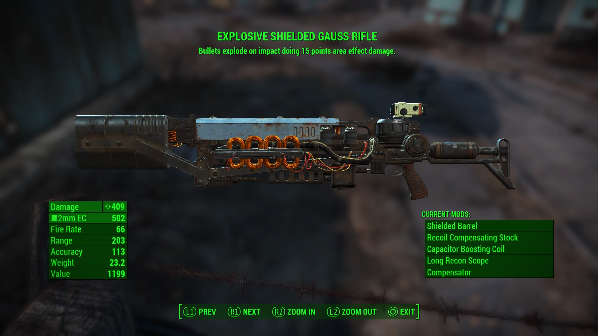 My gauss rifle now does 409 damage, plus a bit of  explosive AOF. That's over 1700 damage on a sneak attack.