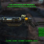 My Lucky Laser Rifle does 144 damage (double that on criticals), but ammo is much more common.