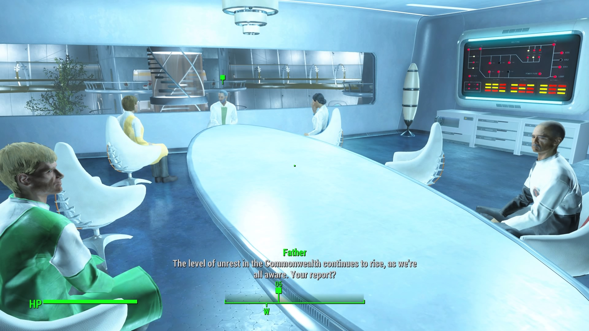 fallout 4 how to get back into the institue