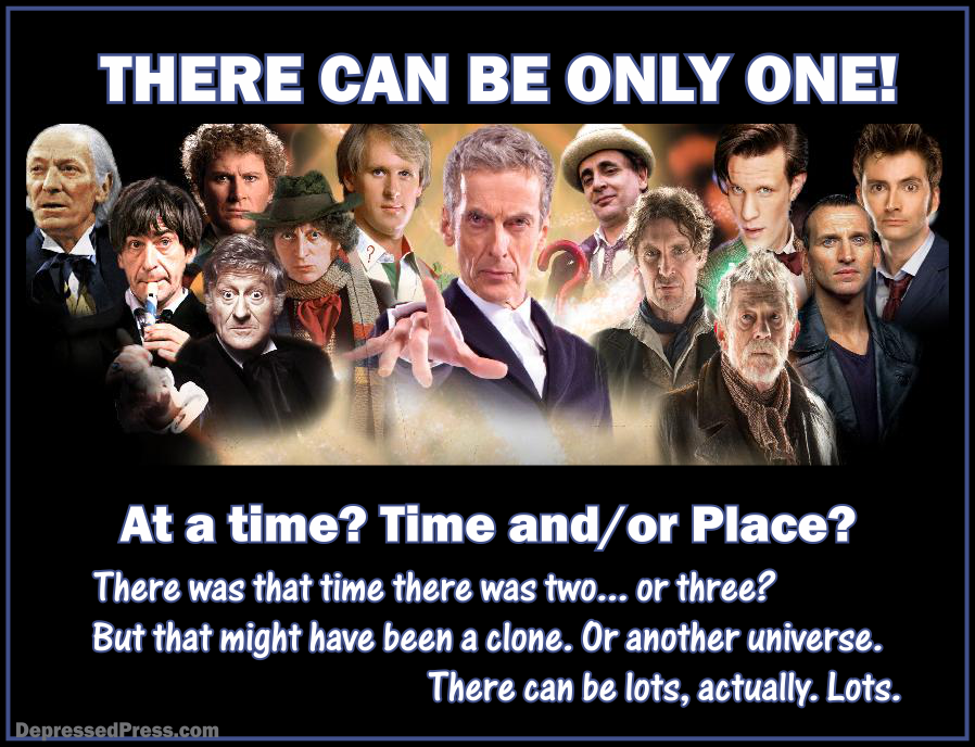 Doctor Who, There can be only one